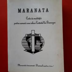 MARANATA Carte de meditatii ×