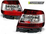 Stopuri LED compatibile cu Audi A4 B5 11.94-09.00 Rosu Alb LED