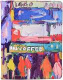 """Husa Stand Universala Flip Oil Canvas 7""""-9"""" (Multicolora)"""