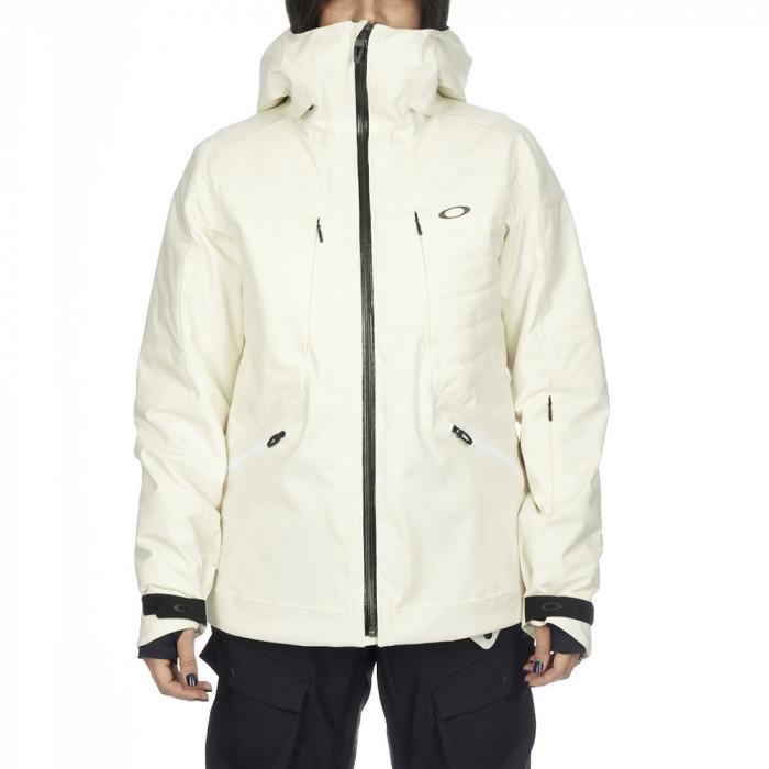 Geaca Oakley Women's Snow Insulate 15K/2L Off White