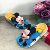 Cumpara ieftin Papuci bleu de vara cu Mickey pentru copii baieti 31 32 cod 0645