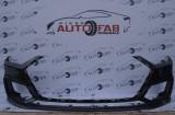 Bară față Audi A7 4K S-line an 2018-2020 găuri pentru 6 senzori și spălătoare faruri