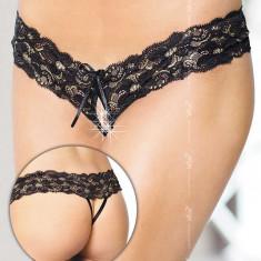 Bikini G-String Dantela Softline - Negri