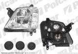 Far Opel Meriva 05.2003-2010 TYC fata dreapta tip bec H1+H7 1216152
