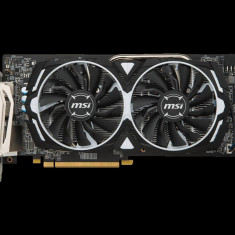 Placa video MSI Radeon RX 580 ARMOR 8G OC, PCI Express 3.0 x16, 8GB, GDDR5, 256-bit, Core Clock: 1366 Mhz , Memory Clock: 8000 Mhz MHz, bulk