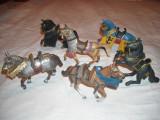 Schleich - 6 figurine cai inseuati cavaleri, Unisex