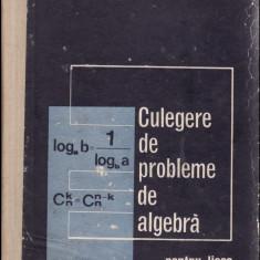 Algebra_Culegere de  probleme pentru licee_colectiv * 33