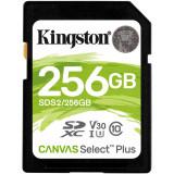 SD Card Kingston, 256GB, Canvas Select Plus, Clasa 10 UHS-I,