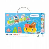 Puzzle - Trenuletul alfabetului (21 piese) PlayLearn Toys