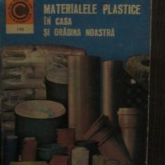 Materialele plastice in casa si gradina noastra nr 145