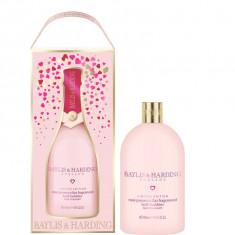 Spuma de baie Baylis & Harding Pink Prosecco & Elderflower, 500ml