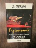Fizionomii. Medalioane de istorie literară - Z. Ornea