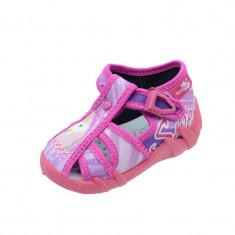 Sandale ortopedice din panza pentru fete Renbut REB5132R, Roz