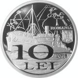 Cumpara ieftin Romania, 10 lei 2015, argint, proof, nașterea Irinei Constantziu – Vlassopol
