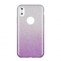 Husa Huawei P Smart 2019, Glitter / Sclipici, Purple