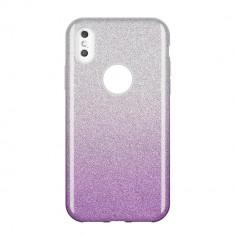 Husa Huawei P Smart 2019, Glitter / Sclipici, Purple