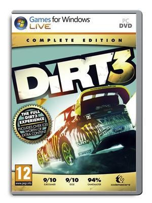DiRT 3 Complete Edition PC CD Key foto