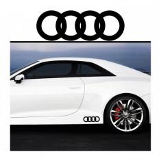 Sticker prag Audi (set 2 buc) - v4