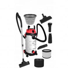 Aspirator Industrial 2500W Capactitate 40 Litri Umed/Uscat Din Otel Inoxidabil