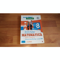 MATEMATICA, ALGEBRA, GEOMETRIE-DOREL LUCHIAN-ANDREI ZANOSCHI SI ALTII