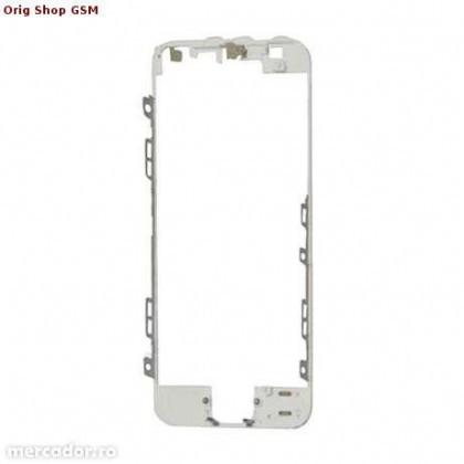 Carcasa Rama LCD Apple iPhone 5 Alb Orig China