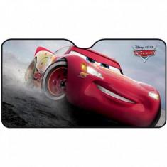 Parasolar pentru parbriz Cars 3 Disney Eurasia, 130 x 70 cm, pliabil