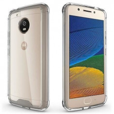 Husa Motorola Lenovo Moto G5 Plus Iberry Care Shockproof Transparenta