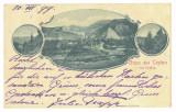 2649 - ORSOVA, Litho, Romania - old postcard - used - 1899, Circulata, Printata