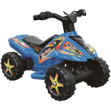 ATV copii cu pedala acceleratie - albastru
