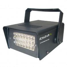 Stroboscop miniatura, carcasa plastic, 24 LED-uri 5 mm, 20 W