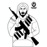 Tinta hartie Terrorist 50 buc Range Solutions