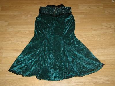 costum carnaval serbare rochie dans gala pentru adulti marime L foto