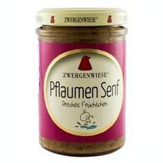 Mustar Bio cu Prune Zwergenwiese 160gr Cod: zw140145