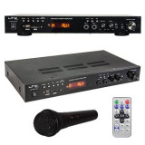 Cumpara ieftin Amplificator 5.0, LCD, Bluetooh, USB, SD, MP3, MP5, 2 x 30 W