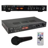 Amplificator 5.0, LCD, Bluetooh, USB, SD, MP3, MP5, 2 x 30 W