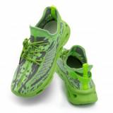 Pantofi sport barbati verzi Quebe