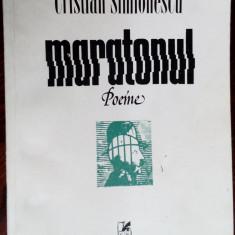 CRISTIAN SIMIONESCU - MARATONUL (POEME) [editia princeps, 1985]