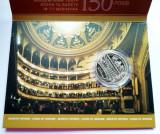 UCRAINA - 5 Grivne (Hrivne - Hryvnias) 2018 - 150 de ani Opera Nationala -folder, Europa, Nichel