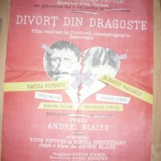 Afilm Film Divorț... din dragoste 1992 regia Andrei Blaier cu Horațiu Mălăele