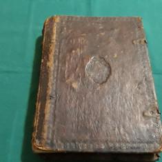 PSALTIREA PROROCULUI ȘI ÎMPĂRATULUI DAVID* 1866/ CARACTERE CHIRILICE