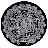 Cumpara ieftin Matrita Metalica Stampila Unghii LUX-45 - Mandala