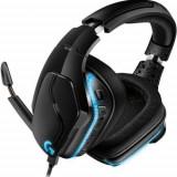 Casti Gaming Logitech G635 RGB Lightsync, Surround 7.1, Multiplatforma, Microfon (Negru)