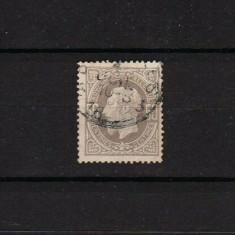 1869 Belgia King Leopold II #32 MLH B002, Stampilat
