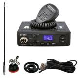 Cumpara ieftin Promotie statie radio CB Avanti Alpha + antena CB Sirio T3/27 + suport...
