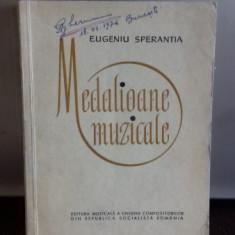 MEDALIOANE MUZICALE - EUGENIU SPERANTA