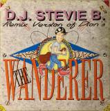 """VINIL  Stevie B (3) – The Wanderer (Remix)  12"""" VG"""