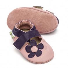 Sandale cu talpa moale Liliputi Lilac