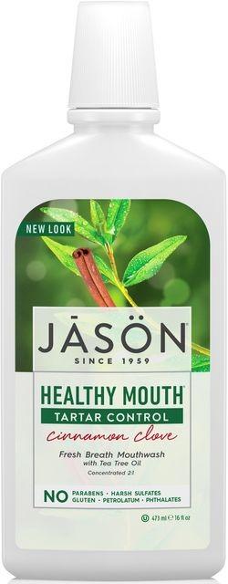 Apa de gura Healthy Mouth cu tea-tree si scortisoara pt gingiile iritate,...
