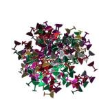 Confetti decor masa, in forma de pahar, multicolore, 26 grame, accesorii petrecere