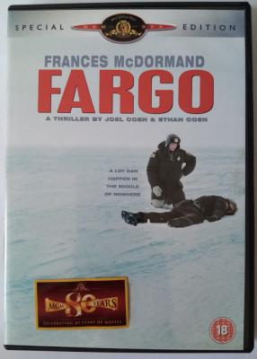 Fargo Joel Coen & Ethan Coen, Frances McDormand, William H.Macy, S. Bruscemi foto